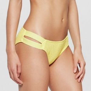 Yellow Mossimo bikini bottoms